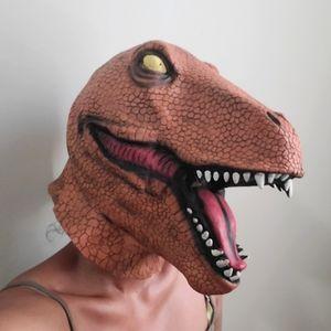 🖤 2/$22  Latex T-rex Mask